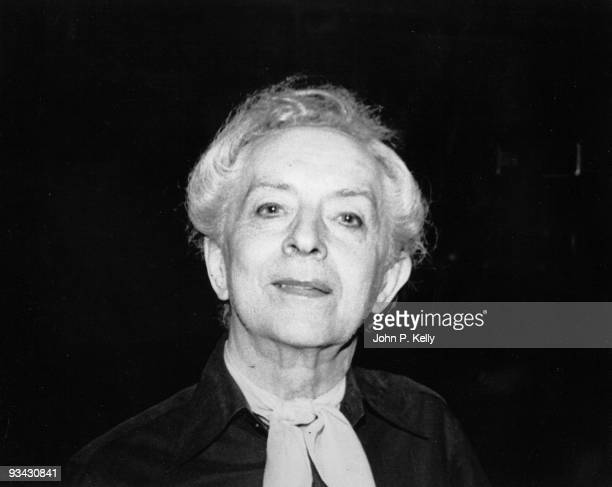 English writer Quentin Crisp at Studio 54 in New York City, circa 1975.