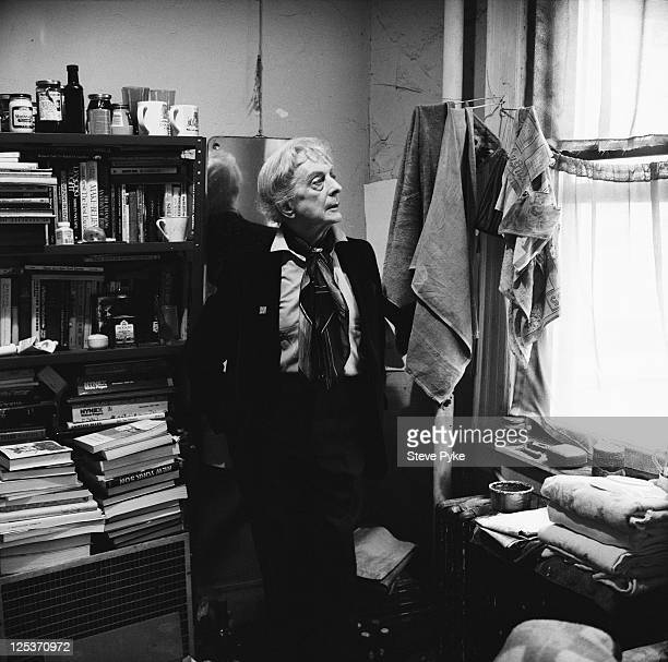 English writer Quentin Crisp , New York City, 1993.