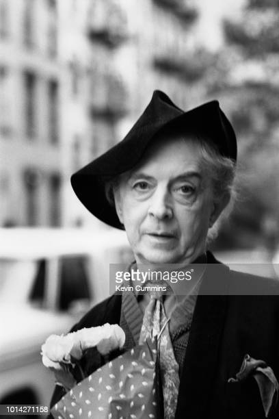English writer, raconteur and actor Quentin Crisp , New York, US, 19th October 1983.