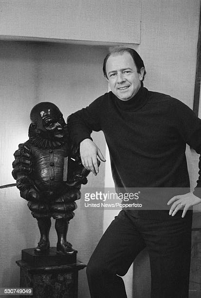 English writer satirist and editor of Punch magazine Alan Coren in London on 21st Novenber 1977