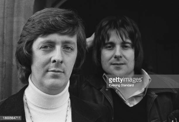 English writing partners Dick Clement and Ian La Frenais, UK, 30th March 1973. They collaborated to create television classics such as 'The Likely...