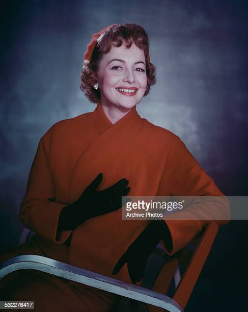 EnglishAmerican actress Olivia de Havilland circa 1960