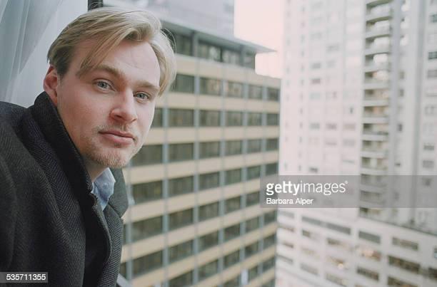 EnglishAmerican film director Christopher Nolan 12th December 2000