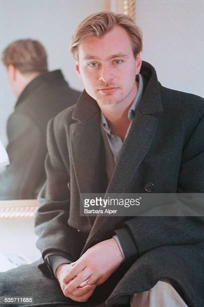 EnglishAmerican film director Christopher Nolan 12th December 2000