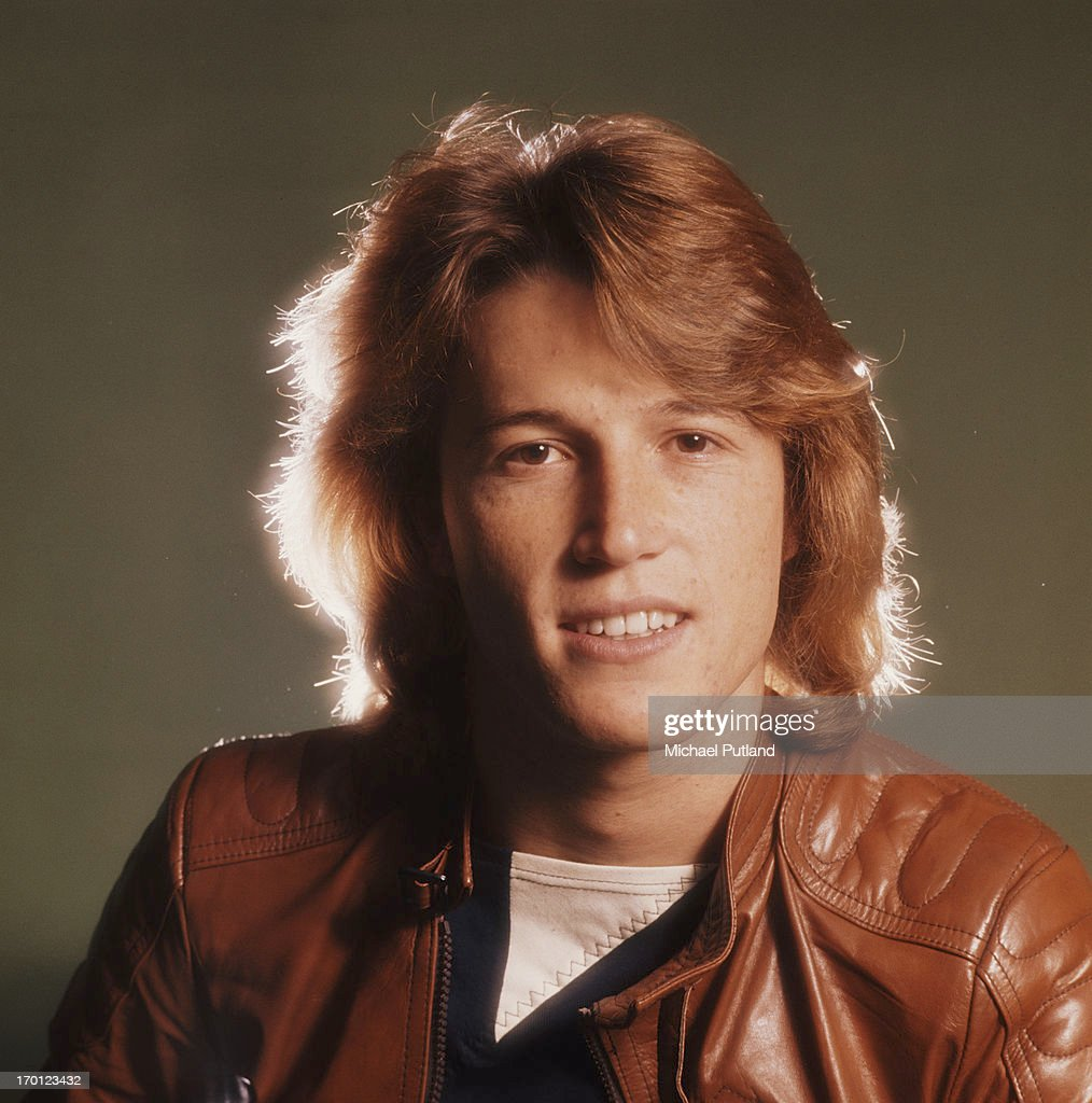 English/Australian singer Andy Gibb (1958 - 1988), 1979. He is the younger brother of Bee Gees Barry, Robin, and Maurice Gibb.