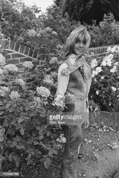 EnglishAustralian singer Olivia NewtonJohn at her home in Hadley Common Hertforshire June 1970 She is about to join the group Toomorrow