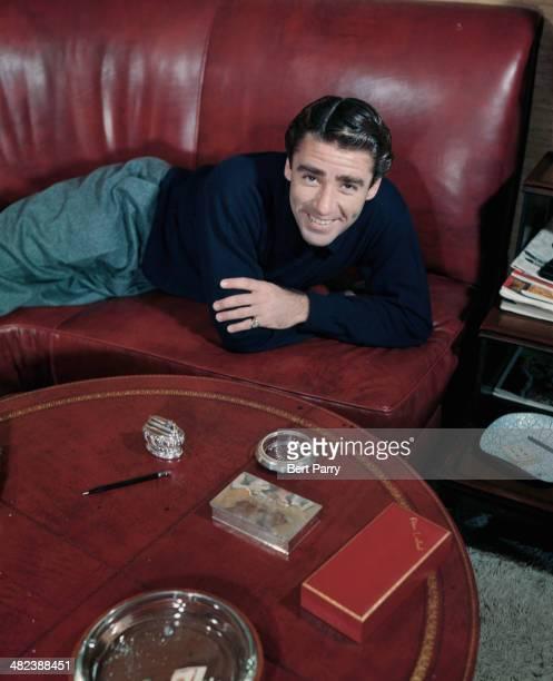 Englishborn American actor Peter Lawford circa 1955