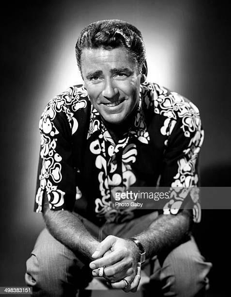 Englishborn American actor Peter Lawford Los Angeles 1958