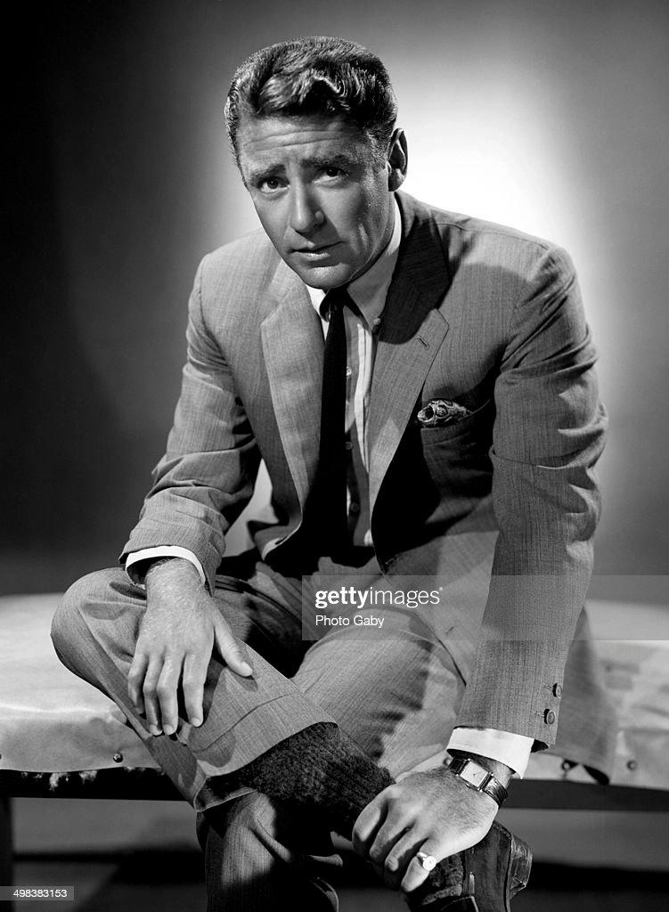 English-born American actor Peter Lawford (1923 - 1984), Los Angeles, 1958.