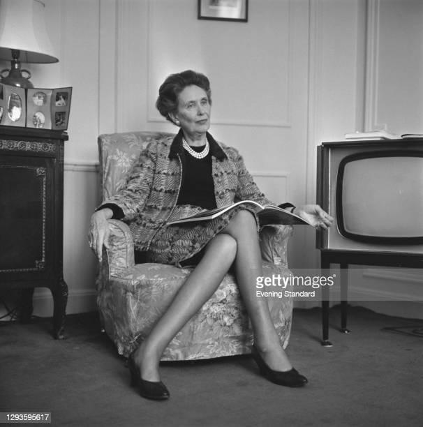 English-born writer Iris Origo , UK, 17th March 1967.
