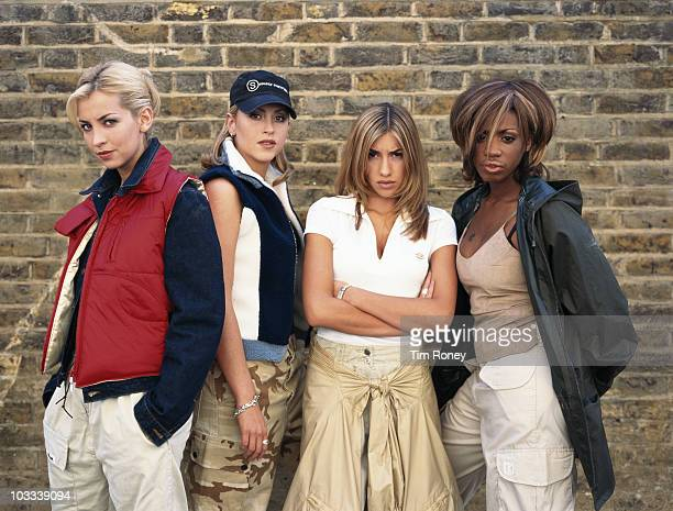 EnglishCanadian girl group All Saints circa 1997 From left to right Natalie Appleton Nicole Appleton Melanie Blatt and Shaznay Lewis
