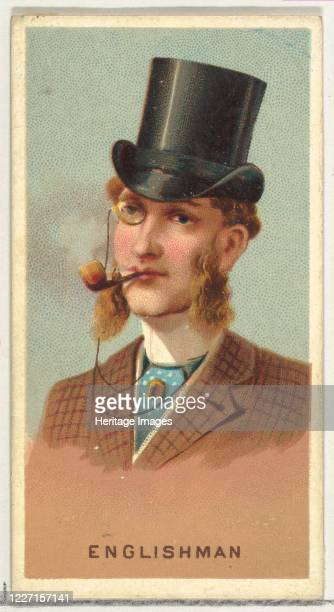 Englishman from World's Smokers series for Allen Ginter Cigarettes 1888 Artist Allen Ginter