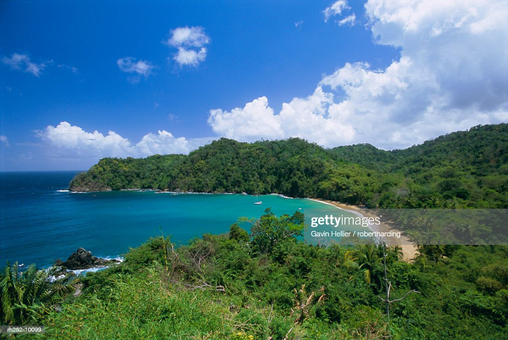 Englishmans Bay, Tobago, Trinidad and Tobago, West Indies, Caribbean, Central America : Foto de stock
