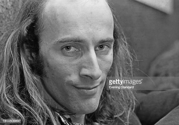 English-New Zealand actor and composer Richard O'Brien, author of the cult stage musical 'The Rocky Horror Show', UK, 20th January 1974.