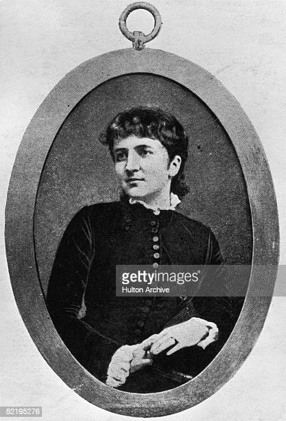 Englishwoman Kitty O Shea Born Katherine Wood Pictured Circa 1880 Whilst Married To Captain Willie