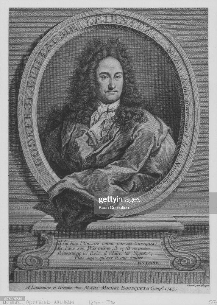 Gottfried Wilhelm Von Leibniz : News Photo