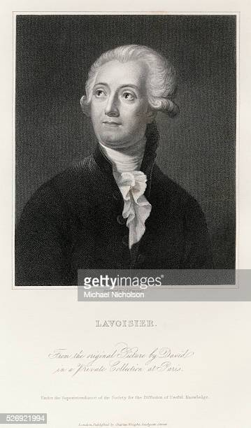 Engraved Portrait of AntoineLaurent Lavoisier