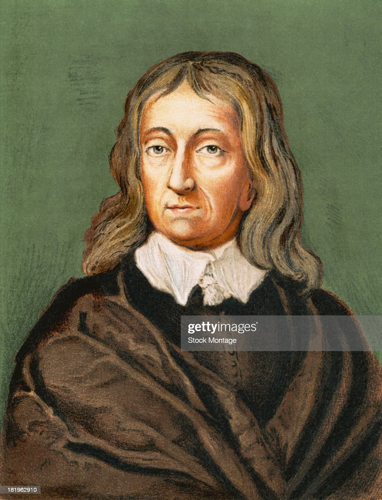 Portrait Of John Milton : News Photo