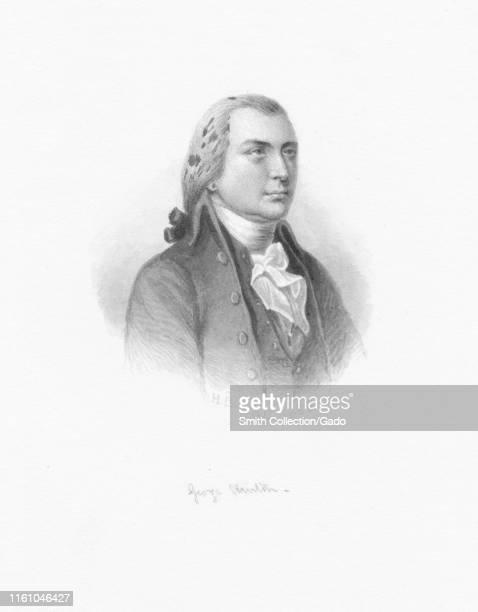 Engraved portrait of George Clinton the first Governor of the state of New York and VicePresident of the United States 1868 From the New York Public...