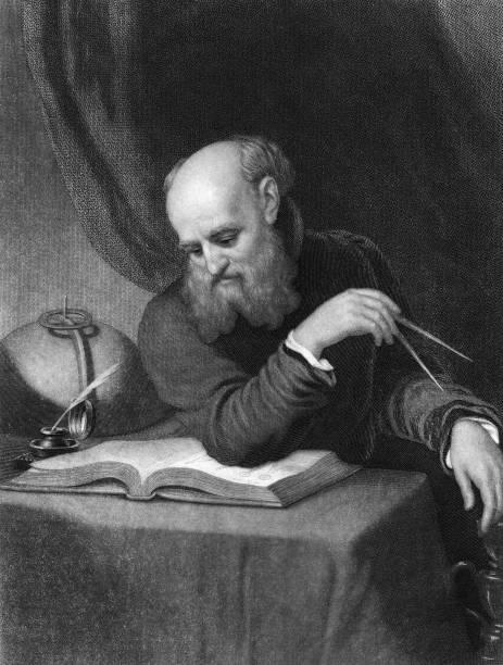 Portrait Of Galileo Wall Art
