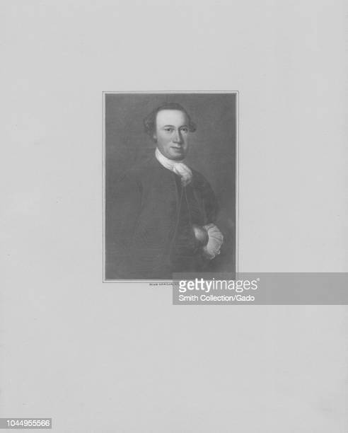 Engraved portrait of John Hanson signer of the Articles of Confederation and the first president of the Continental Congress an American merchant and...