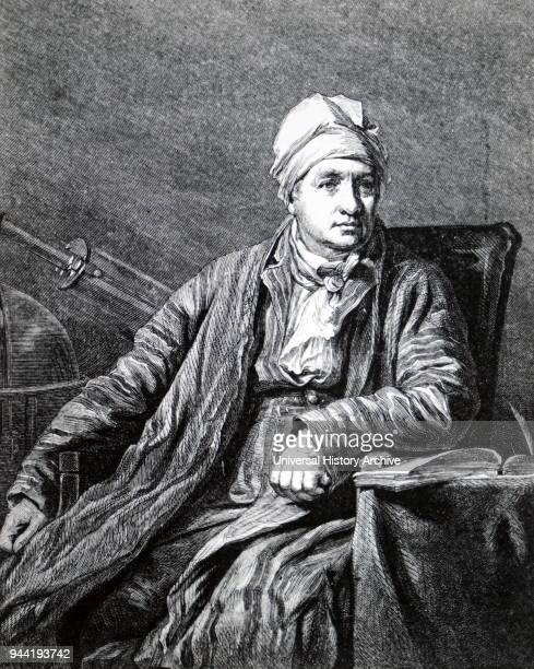 Engraved portrait of John Robison a Scottish physicist mathematician and professor of philosophy at the University of Edinburgh Dated 19th century