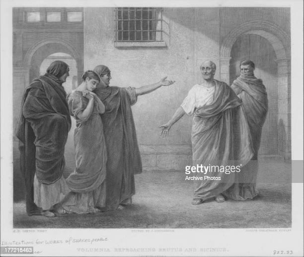 Coriolanus Shakespeare: Coriolanus Photos Et Images De Collection