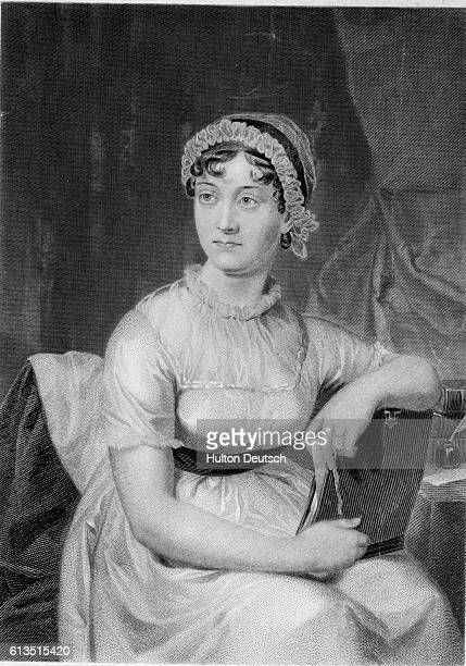 Engraving After Jane Austen by Cassandra Austen