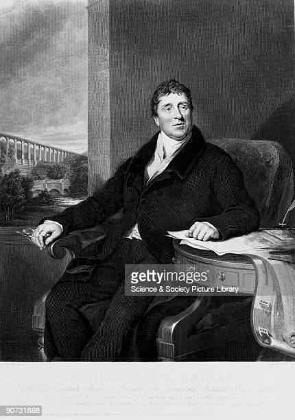 Engraving after Lane published 10 January 1831 of Thomas Telford Telford was responsible for some of the finest feats of civil engineering seen in...
