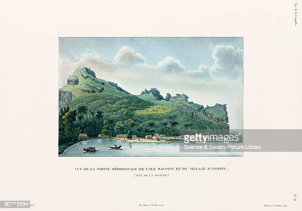 Engraving by Ambroise Tardieu after de Blosseville and Chazal Plate from 'Voyage autour du monde' by Louis Isidore Duperrey Illustrated here is the...