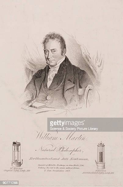 Engraving by Collard after an original work by Henry Perlee Parker. William Martin falsely claimed to have discovered perpetual motion. He was also...