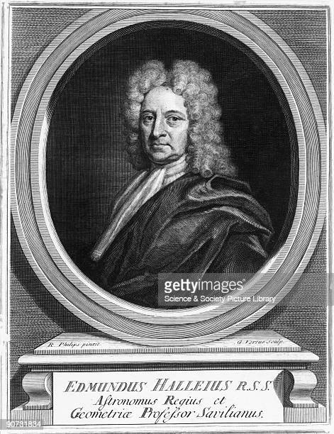 Engraving by George Vertue after a painting by R. Philips. Halley , appointed Astronomer Royal in 1720, is best known for his work with comets, such...