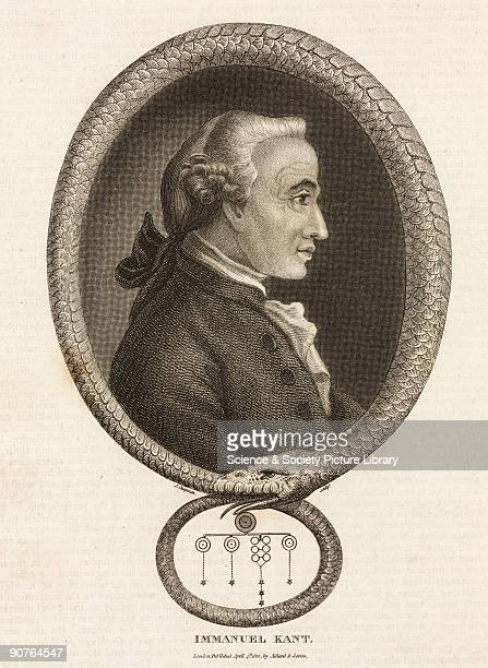 Engraving by J Chapman made c 1812 of Kant framed by an uruboros symbol of infinity Kant became professor of logic and metaphysics at the university...