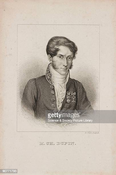 Engraving by R Cooper of PierreCharlesFrançois Dupin While still an undergraduate he discovered 'Dupin's cyclides' On graduation in 1803 he became a...