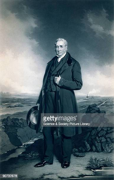 Engraving by Samuel Bellin after an original oil painting by John Lucas c 1830s A largely selfeducated man Stephenson�s early working life was spent...