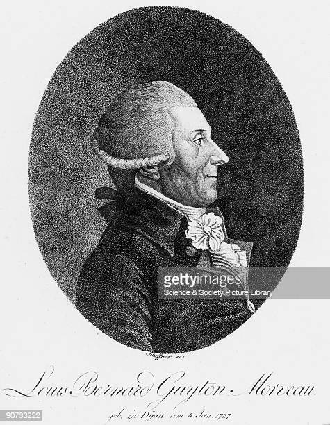 Engraving by Scheffner Louis Bernard Guyton Morveau wrote the chemical section of the �Encyclopedie Methodique� in 1786 Together with Antoine Laurent...