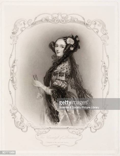 Engraving by W H Mote after a drawing by Alfred Edward Chalon Augusta Ada King Countess of Lovelace was the daughter of the great Romantic poet Lord...