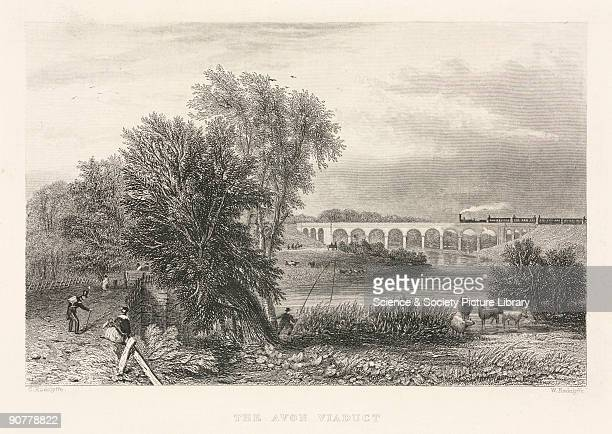 Engraving by W Radclyffe after drawn by C Radclyffe In 1833 Robert Stephenson was appointed chief engineer of the LBR the first railway into London...