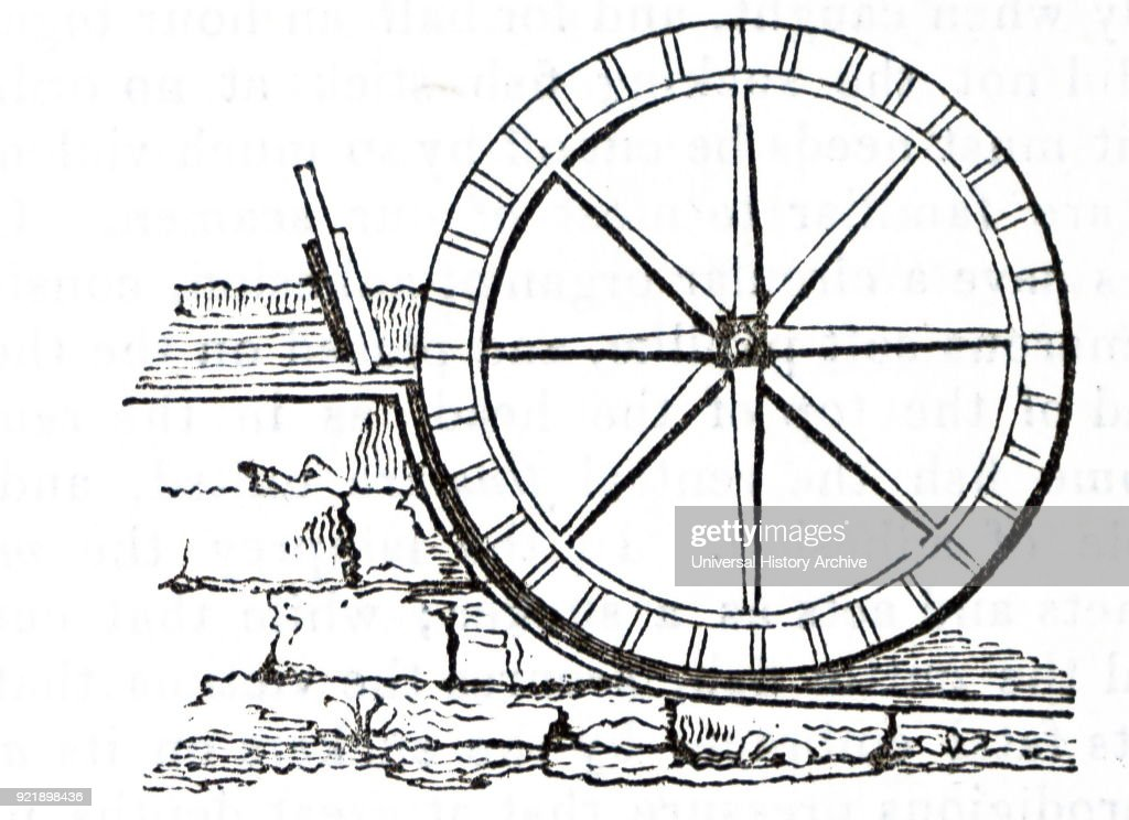 A breast wheel. : News Photo
