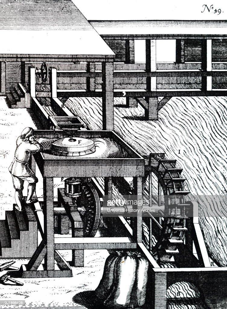 A corn mill. : News Photo
