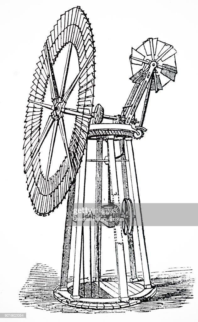 A wind pump. : News Photo