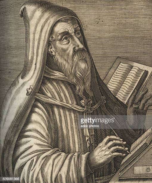Augustine of Hippo philosopher and Christian theologian born in Tagaste
