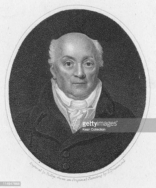 Engraving depicting Francis Chalie circa 1790 Engraving by William Ridley from a portrait painted by Samuel Drummond