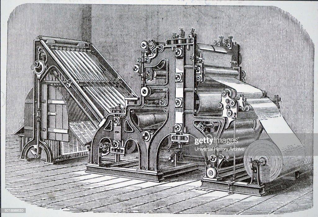 The Walter rotary press. : News Photo