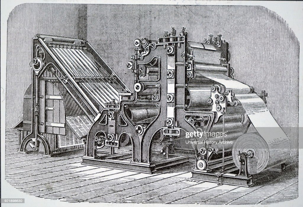 The Walter rotary press.