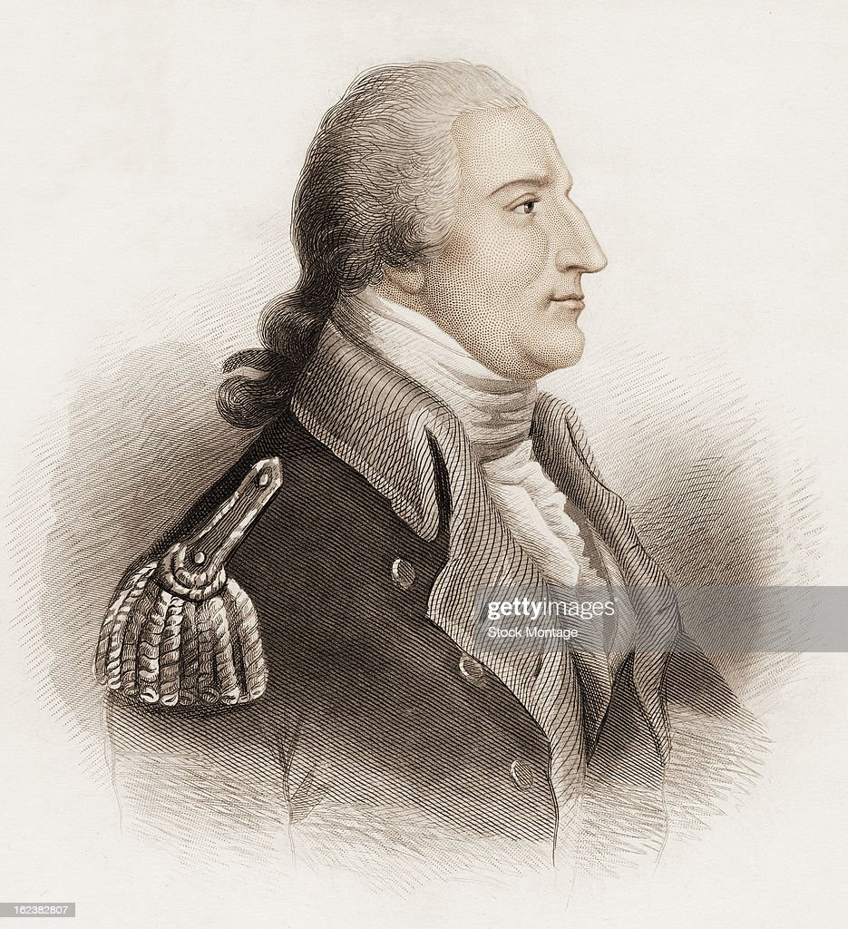 Portrait Of Benedict Arnold : News Photo