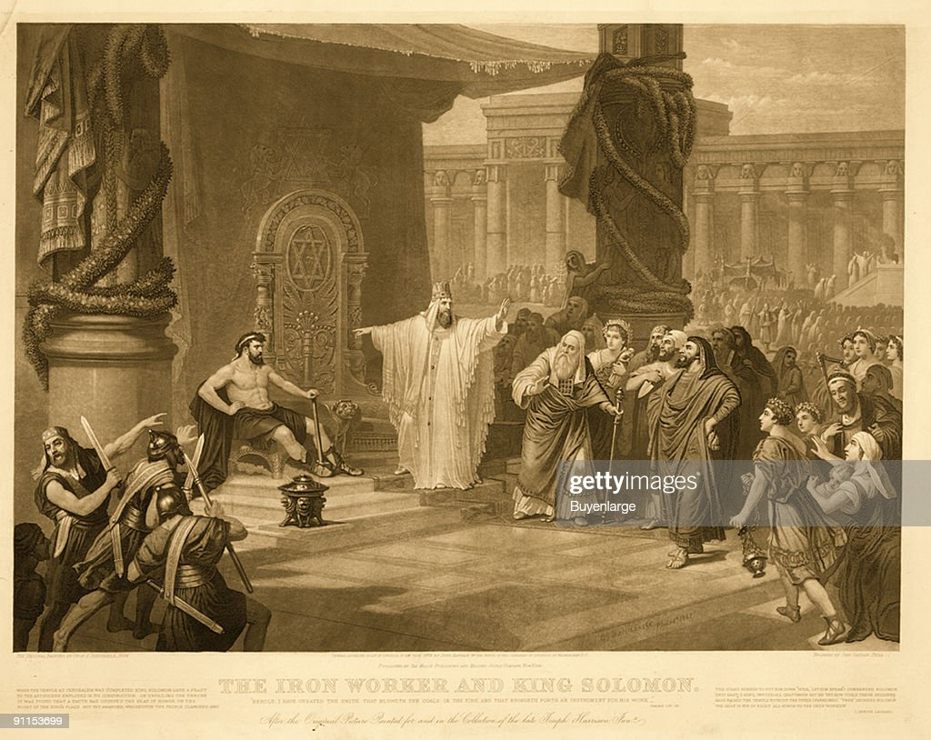 'The Iron Worker & King Solomon' : News Photo
