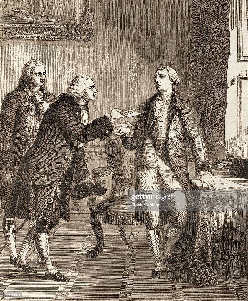 Ambassador Adams Meets King George III : News Photo
