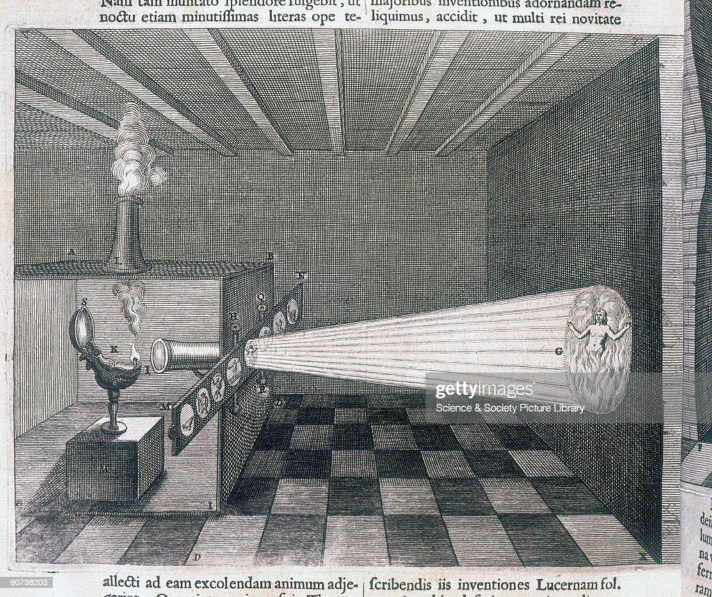 Camera obscura, 1646. : News Photo
