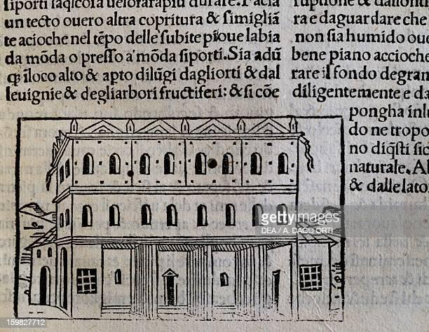 Engraving from De agricultura vulgare by Pietro de Crescenzi Venice Biblioteca Nazionale Marciana